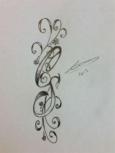 tattoo designs initials 81 best tattoos images on ideas