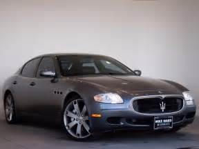 Pre Owned Maserati Quattroporte Pre Owned 2008 Maserati Quattroporte 4d Sedan In Highlands