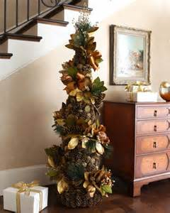 spiral christmas tree traditional holiday decorations