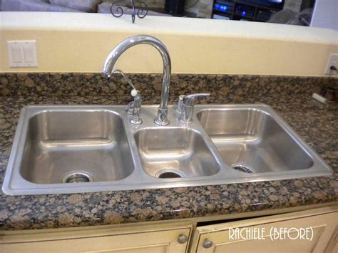 overmount sink on granite overmount kitchen sink on granite besto