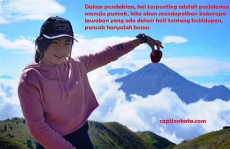 kata kata bijak mutiara pendaki gunung indonesia
