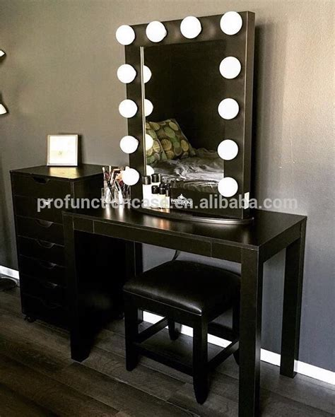 Vanity With Lights Professionnel Studio Maquillage Miroir Avec Led Lumi 232 Res
