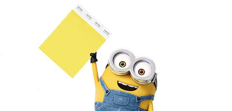 Minions World Graphic 3 pantone s new color is despicable digital media academy