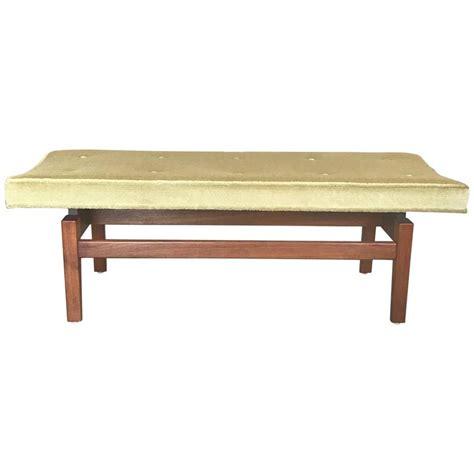 floating bench jens risom floating upholstered bench for sale at 1stdibs