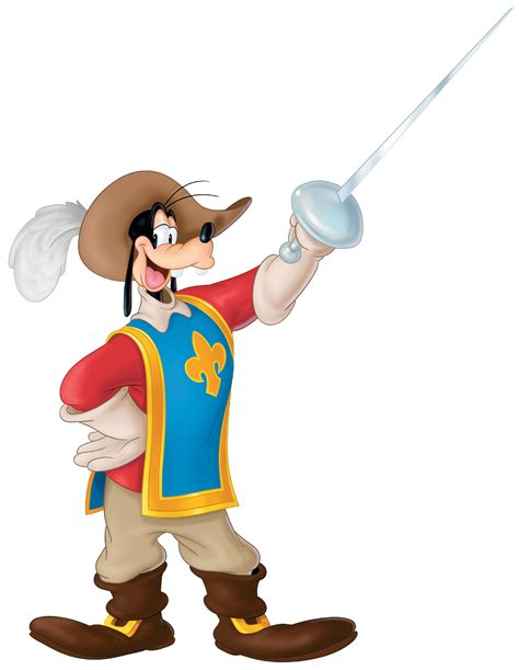 goofy the image mickey donald goofy the three musketeers 9e2236d4 jpg disneywiki