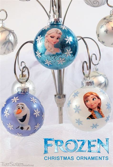 how to make your own christmas decorations out of a4 paper 25 best ideas about frozen ornaments on frozen tree diy