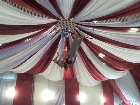 How To Drape Fabric From The Ceiling by Ceiling Drape Wedding Event Ceiling Draping Lighting