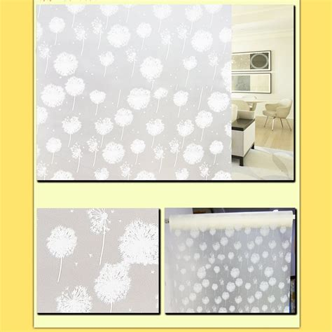 privacy sticker for bathroom window waterproof glass frosted bathroom door window privacy self
