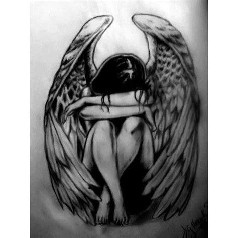 angel tattoos women fashion and lifestyles fallen angel tattoo by heydi drawing 46082 liked on