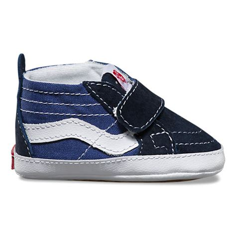 Baby Vans Crib Shoes by Infant Sk8 Hi Crib Shop Shoes At Vans