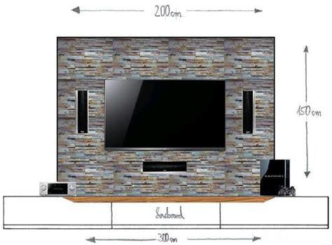 Wände Gestalten Steinoptik by Wandgestaltung Tv Wand Bestseller Shop F 252 R M 246 Bel Und