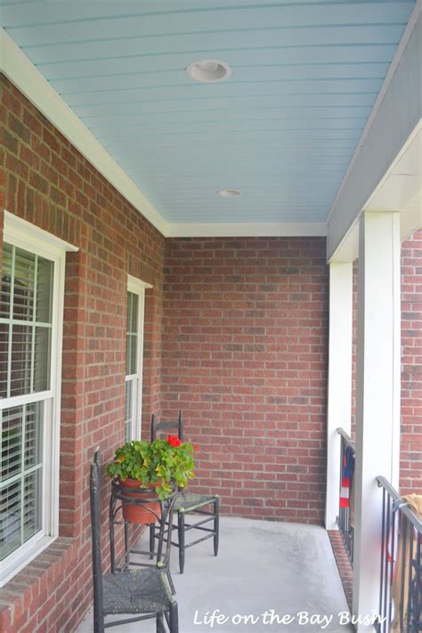 ceiling colors vinyl beadboard porch ceiling colors
