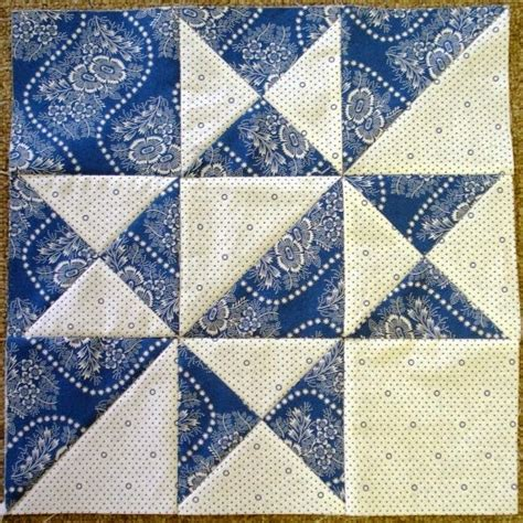 Patchwork Quilt Blocks - quilts 2nd sat april 2014 alternate block blue