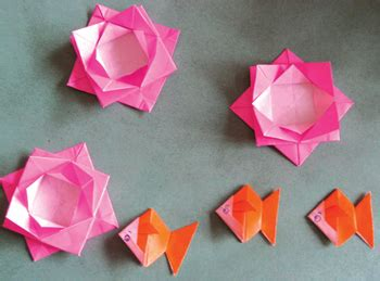 new year origami flower origami by folk artist connie zhang of the huaxia