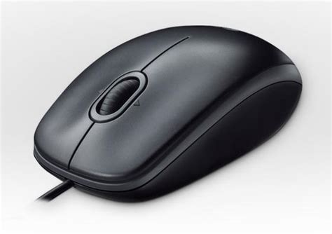 Logitech Optical Black B100 Mouse logitech b100 optical combo mouse black usb emea