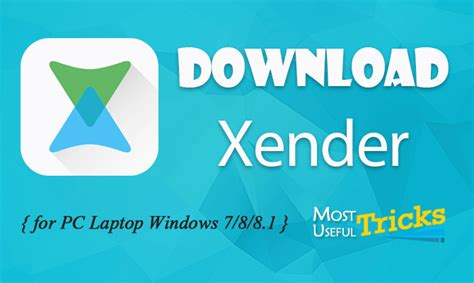Download Xender Using Microsoft | download xender for pc laptop windows 7 10 8 8 1 computer