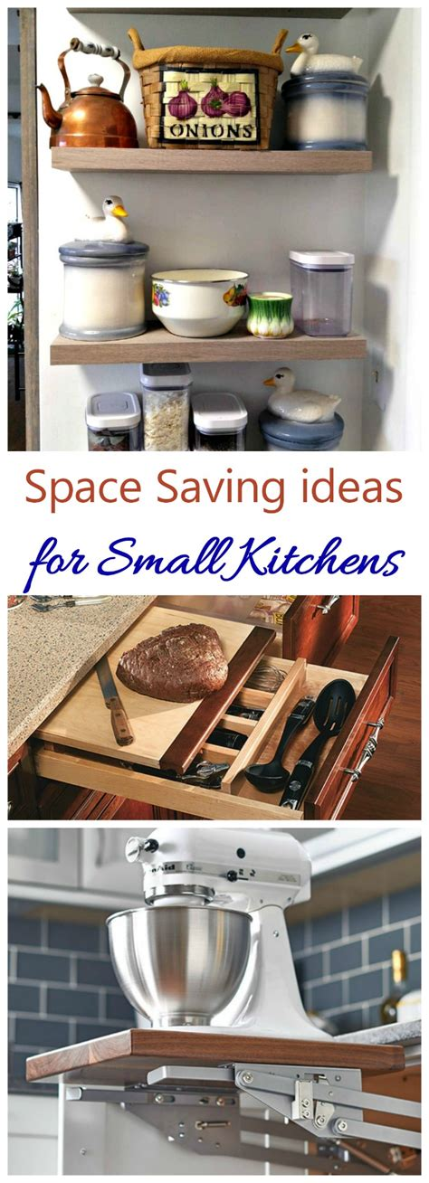 space saving ideas kitchen space saving kitchen ideas to easier in small