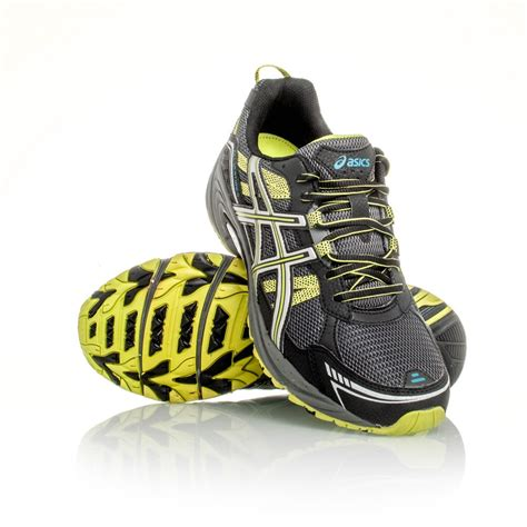 asics gel venture 4 mens trail running shoes black