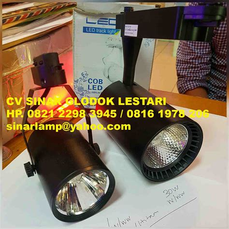 Lu Sorot Spot Track Rail Led 30w lu spot light series
