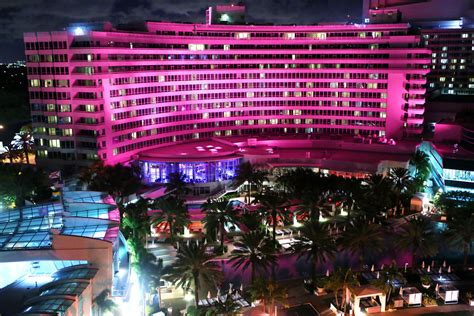 Mba On Line In Fountainblue by Fontainebleau Miami Supports Breast Cancer Reasearch