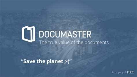 documaster the true value of documents