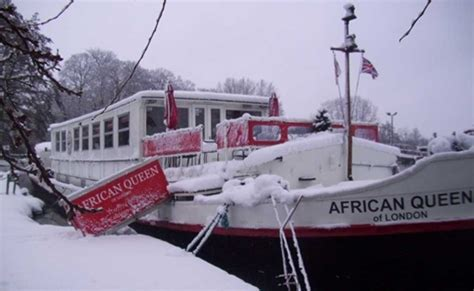 thames river cruise in winter african queen in winter african queen thames river cruises