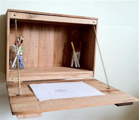 fold away study desk diy pallet fold study desk for pallet