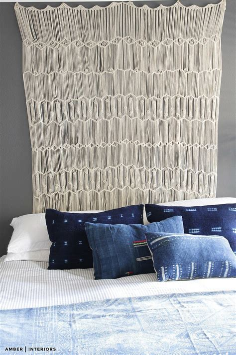 Hanging A Headboard by Hang A Curtain For A Headboard 7 It Bedrooms To Emulate Popsugar Home