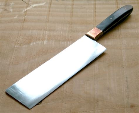 Hand Forged Japanese Kitchen Knives by Hand Forged Usuba Japanese Vegetable Knife By Iron Eye