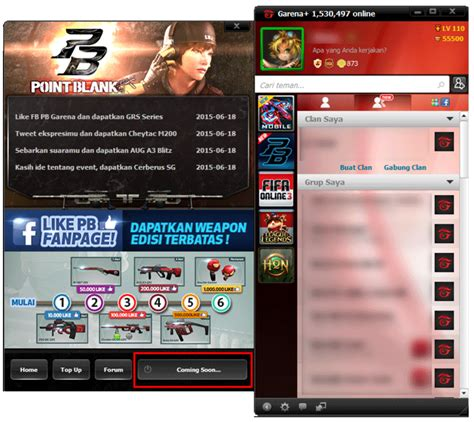 cara membuat pb gemscool ke garena cara migrasi point blank gemscool ke garena for guides