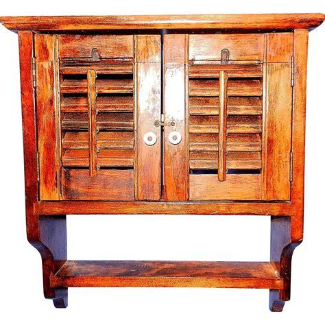Primitive Spice Rack vintage primitive wooden spice rack with shutter doors from mygrandmotherhadone on ruby