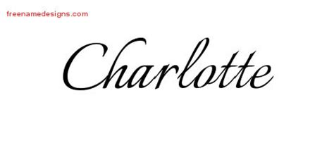charlotte archives free name designs