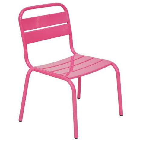 chaise empilable berlingo pour enfant fuschia 772958
