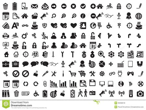 vector business icons set royalty free stock photos image 1095468 black business icons set on white royalty free stock photos image 30330518