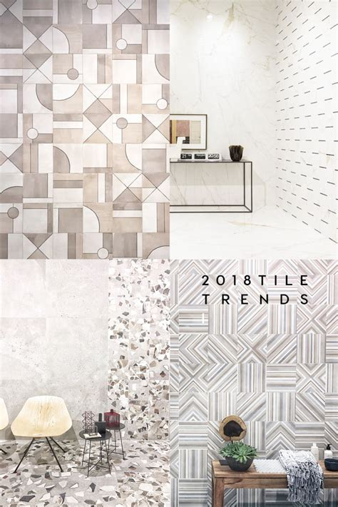 tile trends 2018 to out from the cersaie 2017