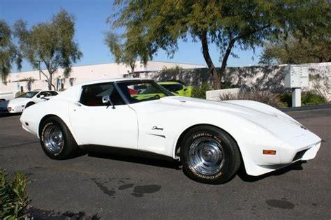 1975 corvette t top coupe l82 auto ps pdb tilt a c great 2 owner project classic chevrolet corvette for sale hemmings motor news