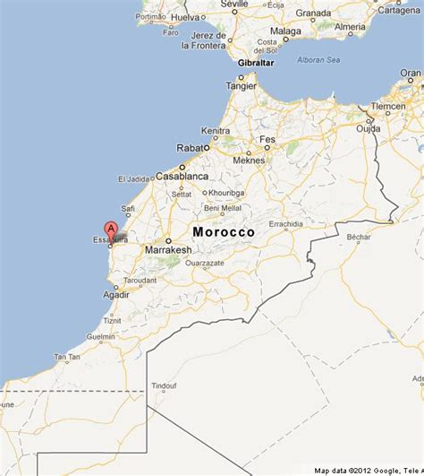 World Beautiful Places essaouira on morocco map world easy guides