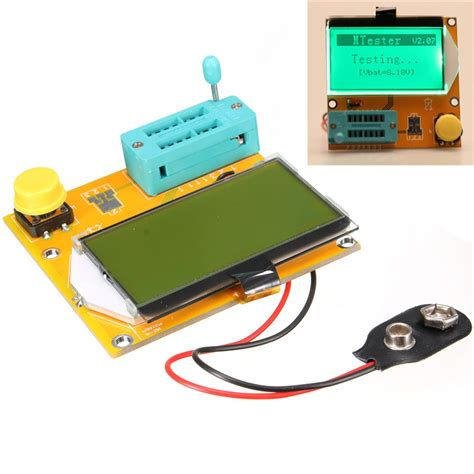 diode triode newest diode triode capacitance esr meter mos pnp lcr t3 transistor tester lcd display
