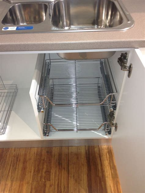 kitchen sink storage under kitchen sink storage for the home pinterest