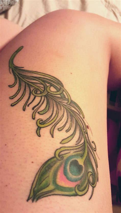 feather tattoo on upper thigh 17 best images about my wishlist on pinterest
