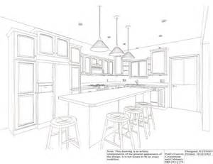 drawing kitchen design most favored home design