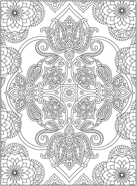 coloring pages of mehndi designs dragonfly treasure creative haven mehndi designs coloring