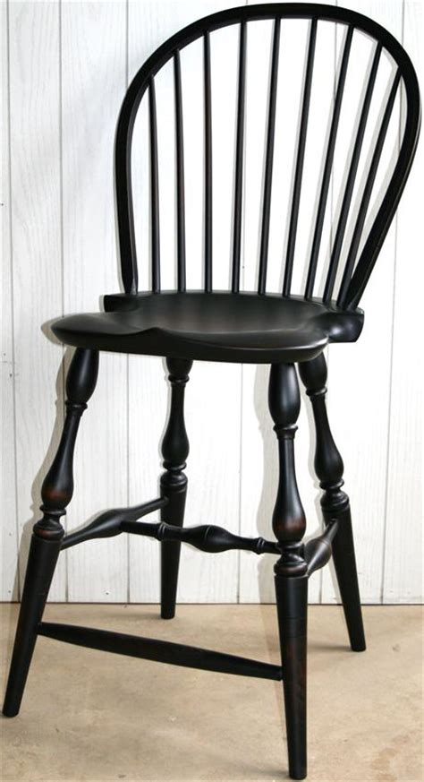 Dining Room Chairs Cherry by Reproduction Windsor Bar Stool From Dutchcrafters Amish