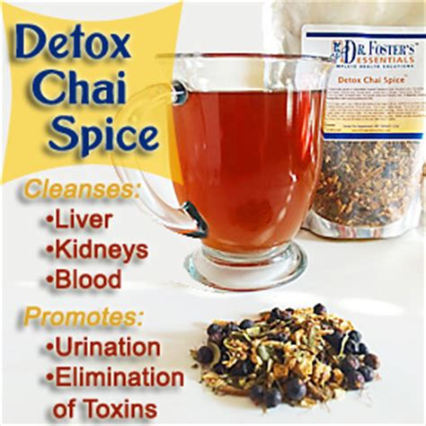 Detox And Afib by Detox Chai Spice Herbal Tea For Digestive Health Dr