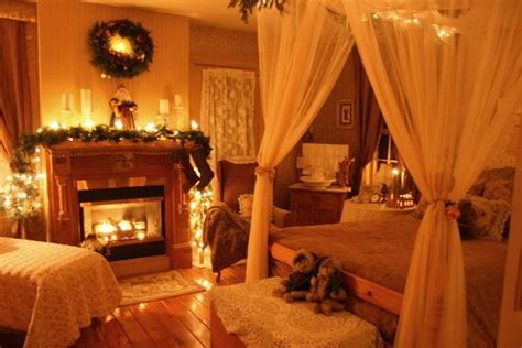 nighttime christmas bedroom pictures   images