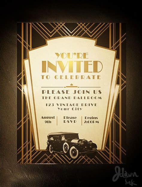 deco invitation templates invitations invitation design and on