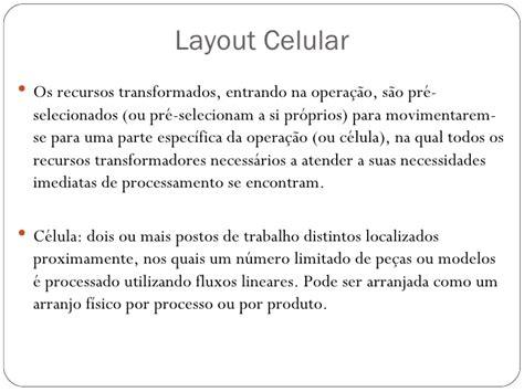 layout celular wikipedia fluxograma layout