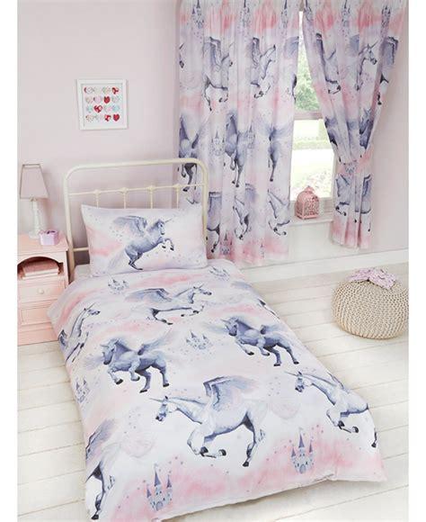 einhorn bettdecke pink stardust unicorn single duvet cover pillowcase