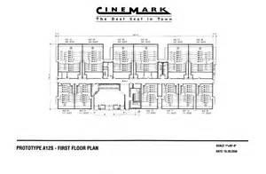 Movie Theatre Floor Plan by Prototype A12s First Floor Plan