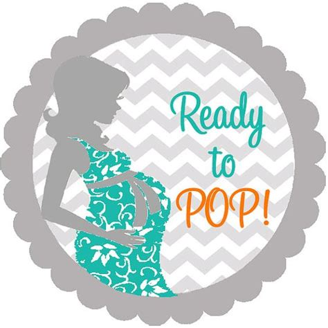 ready to pop stickers template 17 best images about baby shower ideas ni 241 o baby showers